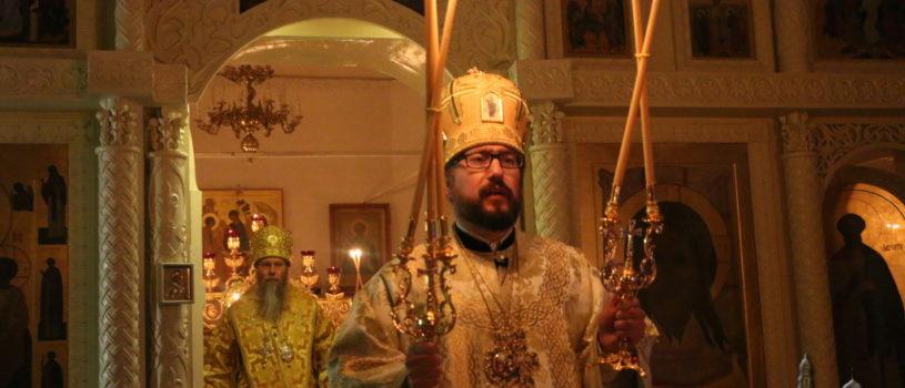 Архипастыри Ардатовской и Алатырской епархий совершили совместное богослужение в новогоднюю ночь