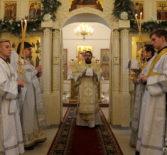 Неделя 32-ая по Пятидесятнице, пред Рождеством Христовым (в Рождественский сочельник), память святых отец