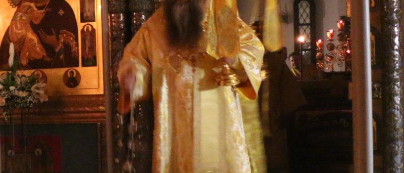 В рамках XXVII Международных Рождественских образовательных чтений в Зачатьевском ставропигиальном женском монастыре города Москвы, была совершена Божественная литургия