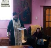 Насельники Большеигнатовского дома престарелых встретили Рождество Христово