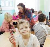 Ардатовская епархия совместно с МГУ им.Н.П.Огарёва в ардатовской коррекционной школе провели творческое занятие с детьми начальных классов