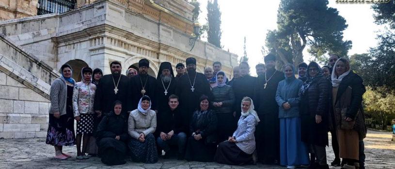 Третий день паломничества по Святой Земле (Израилю)