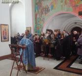 Панихид в день вывода войск из Афганистана в Благовещенском храме п.Комсомольский Чамзинского благочиния