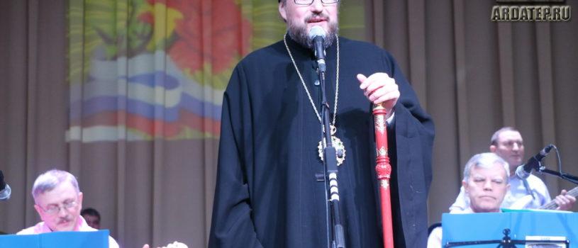 В Атяшевском ДК прошло торжественное собрание, посвященном Дню защитника Отечества