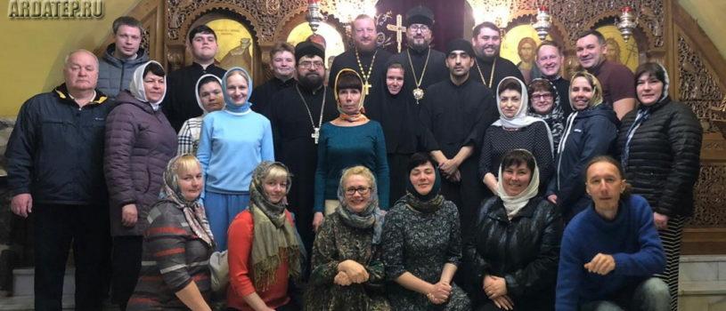 Седьмой день паломничества на Святой Земле