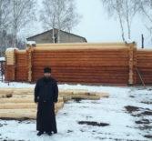 В с.Пермиси Большеберезниковского района продолжается строительство храма в честь Покрова Пресвятой Богородицы