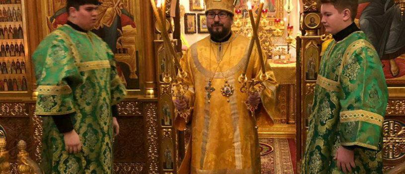 Четвертый день паломничества.  Архипастырь совершил Божественную литургию в Горненском монастыре РДМ. Омовение в водах Иордана.