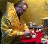 Архипастырь совершил Божественную литургию в храме двенадцати апостолов г.Тиверии. Пятый день паломничества на Святой Земле.