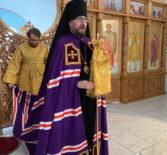 Архипастырь совершил Божественную литургию в храме Неопалимой Купины с.Урусово Ардатовского благочиния
