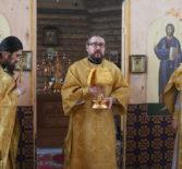 Архипастырь совершил Божественную литургию в храме Отрада и Утешение с.Шейн-Майдана Атяшевского благочиния