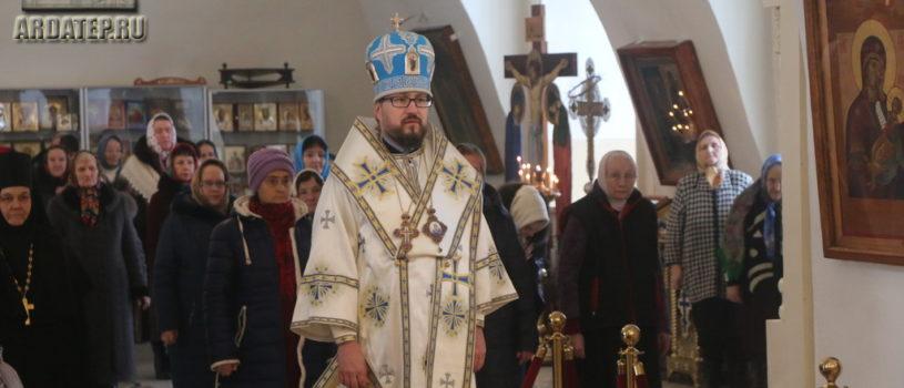 Сретение Господа Бога и Спаса нашего Иисуса Христа в Никольском кафедральном соборе г.Ардатова