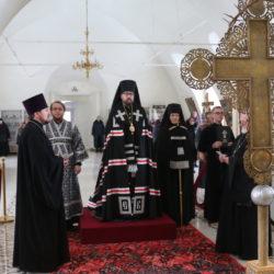 Вторник первой седмицы Великого поста, Архипастырь молился за уставным великопостным богослужением в Никольском кафедральном соборе г.Ардатова