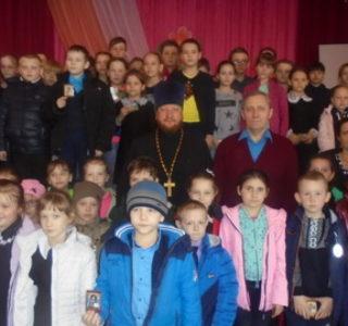 Жаворонки в воскресной школе при Никольском кафедральном соборе г.Ардатова