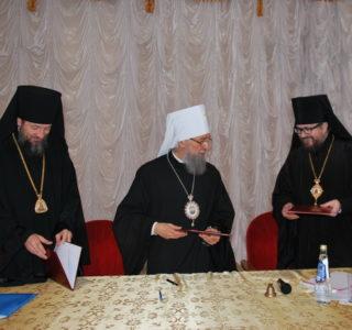 В Макаровском паломническом центре прошло расширенное заседание Архиерейского Совета Мордовской митрополии