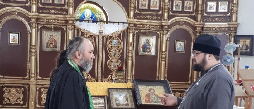 Благочинный Большеберезниковского района совершил рабочий визит в храм Александра Невского с.Дегилевка