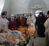 Божественная литургия в Родительскую субботу в Никольском кафедральном соборе г.Ардатова