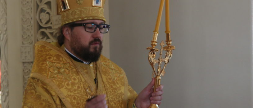 Неделя мясопустная, о Страшнем суде, Архипастырь совершил Божественную литургию в Никольском кафедральном соборе г.Ардатова.