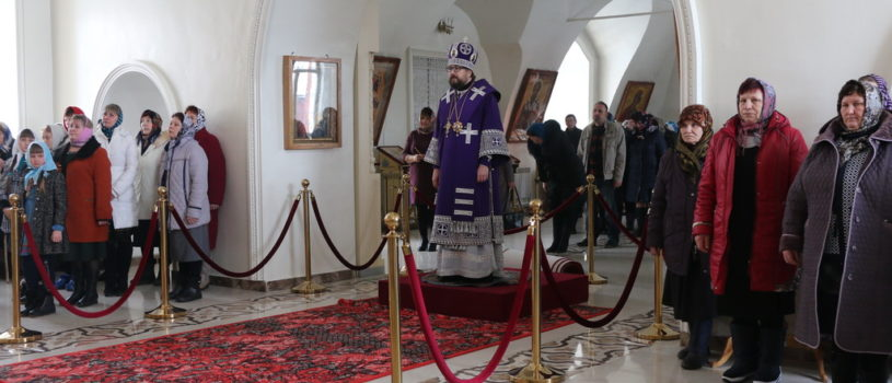 Неделя 2-ая Великого поста, святителя Григория Паламы, Божественная литургия святителя Василия Великого в Никольском кафедральном соборе г.Ардатова