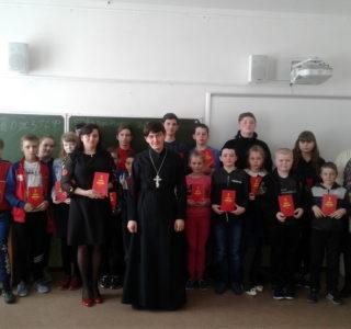 В Киржеманской СОШ Большеигнатовского района состоялся открытый урок ОПК
