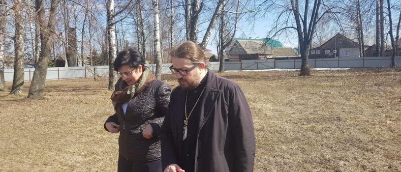 Архипастырь провел рабочую встречу с Главой Большеигнатовского муниципального района Т.Н.Полозовой