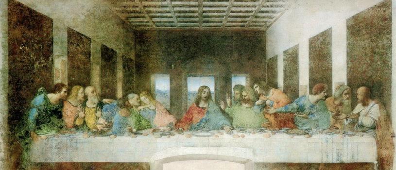 Великий четверг Церковь воспоминает Тайную Вечерю, во время которой Христос установил главное Таинство Церкви – Евхаристию