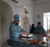 Суббота 5-й седмицы Великого поста, похвала Божией Матери в Никольском кафедральном соборе г.Ардатова
