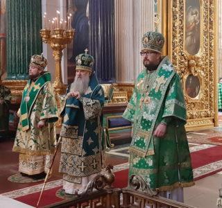 Вход Господень в Иерусалим в Исаакиевском соборе г.Санкт-Петербурга