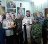 В домовом храме святителя Луки, архиепископа Крымского Ардатовского психоневрологического дома-интерната прошло великопостное Богослужение