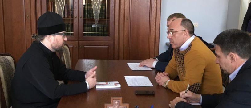 Архипастырь провел рабочее совещание с Министром культуры Республики Мордовия А.М.Чушкиным