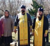 На Большеберезниковском кладбище отреставрировали заброшенное захоронение священнослужителя