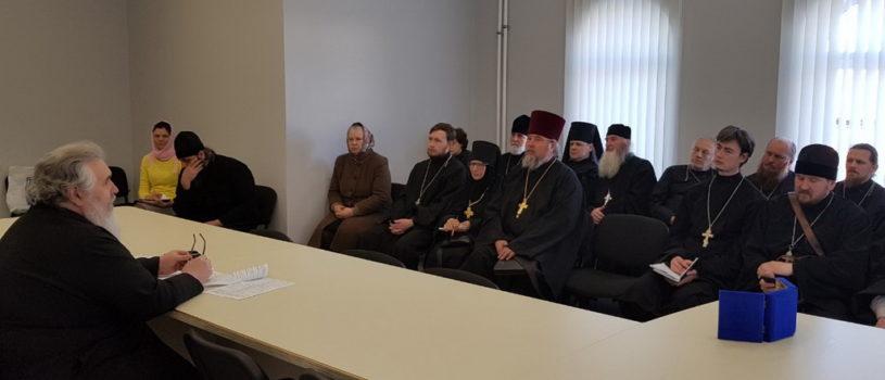 Совещание в епархиальном управлении Ардатовской епархии