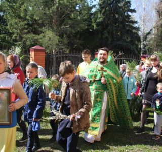 Детский крестный ход в Никольсом приходе с.Дубенки