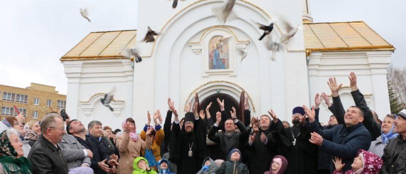 Престольное торжество в Благовещенском приходе п.Комсомольский Чамзинского благочиния