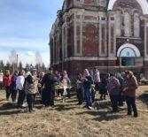 Успенская церковь с.Марьяновка Большеберезниковского благочиния окружена заботой и вниманием прихожан