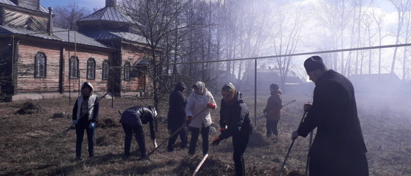 Экологическая акция в Большом Игнатове