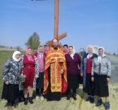 В п.Березовка Дубенского района установили поклонный Крест