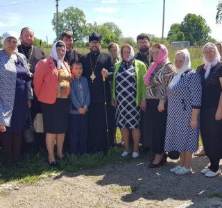 Престол в Отрадненском приходе Чамзинского благочиния