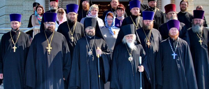 Председатель Синодального отдела по социальному служению и церковной благотворительности, епископ Орехово-Зуевский Пантелеимон посетил Ардатовскую епархию