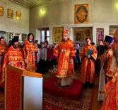 Вторник Светлой Седмицы, Архипастырь совершил Божественную литургию в центральном храме Большеберезниковского благочиния в честь Живоначальной Троицы