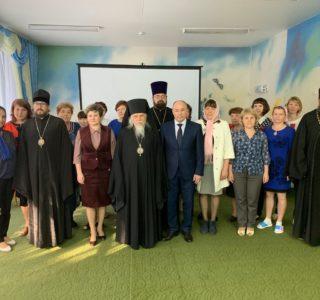 Председатель Синодального социального отдела посетил Большеберезниковский Дом малютки