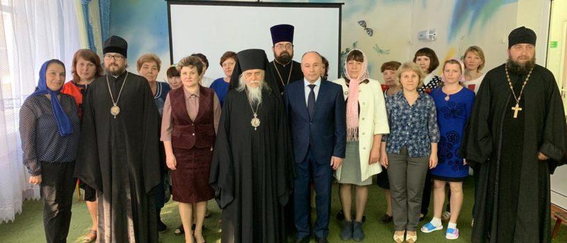 Председатель Синодального отдела по социальному служению и церковной благотворительности посетил Большеберезниковский Дом малютки