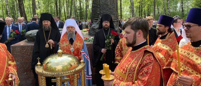 Архипастырь в Саранске принял участие в праздничных мероприятиях, посвященных Великой Победы нашего народа над фашизмом