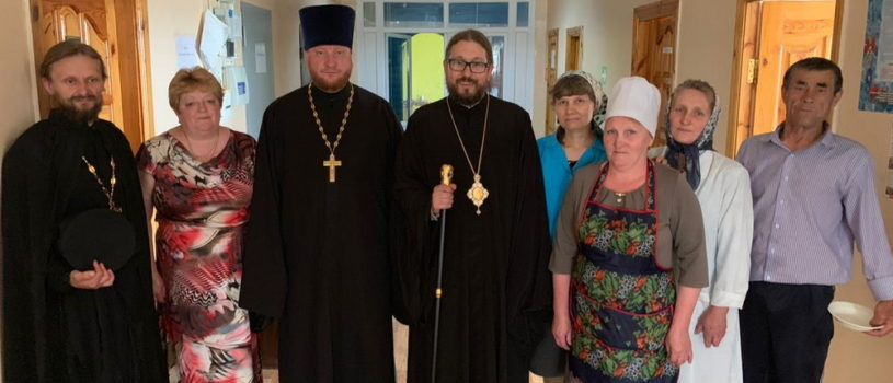 Архипастырь посетил Поводимовский дом-интернат для престарелых и инвалидов