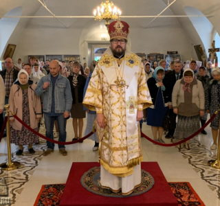 Престольное торжество в Никольском кафедральном соборе г.Ардатова