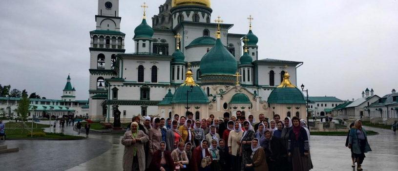 Архипастырь совместно с группой паломников Ардатовской епархии совершает паломническую поездку по святым местам «Золотого кольца»