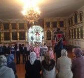Учащиеся воскресной школы Вознесенского прихода с.Атяшево провели Пасхальный концерт для прихожан и своего настоятеля