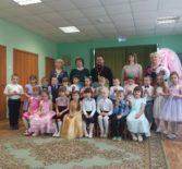 Пасхальный утренник в детском саду «Красная Шапочка» п.Комсомольский Чамзинского района