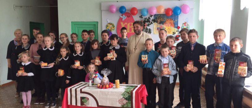Учащиеся сел Луньгинский Майдан, Безводное, Кечушево и Полое Ардатовского района приняли участие в традиционных пасхальных играх, конкурсах и викторинах