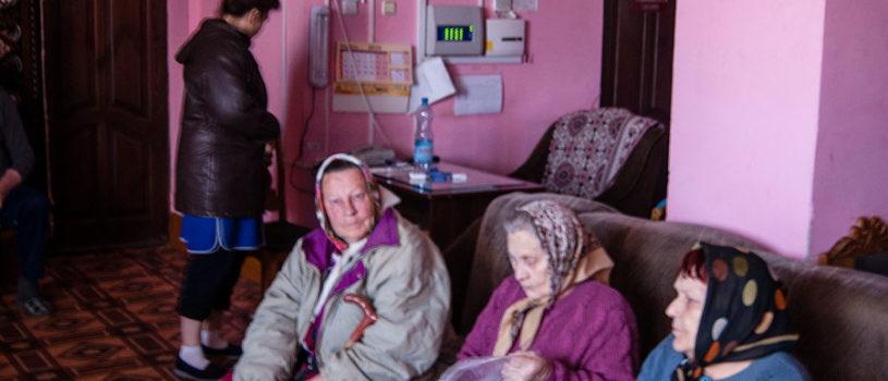 Артос для верующих Большеигнатовского Дома престарелых