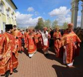 Пятница Светлой Седмицы, Божественная литургия в храме Святой Троицы г.Рузаевка